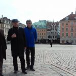Nauczyciele akademiccy MWSE zwiedzający stare miasto