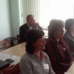 Uczestnicy konferencji, w drugim rzędzie siedzi ks. prof. J. Siewieora