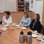 Przedstawiciele władz Uczelni podczas spotkania z goścmi z Erasmusa