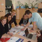 Pracownicy administracyjni w Pradze