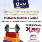 Wejściówki do klubu fitness dla studentów MWSE