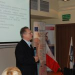 prof. Leszek Kozioł podczas wykładu