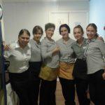 Studentki MWSE z opiekunami