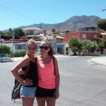 Dwie studentki podczas zwiedzania Hiszpanii