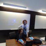 Barbara Jarosz i Anna Król w trakcie prezentacji MWSE