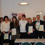 Zdjęcie grupowe uczestników kursu języka rosyjskiego