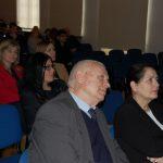 Słuchacze w trakcie wykładu. W pierwszym rzędzie Kanclerz MWSE mgr Zofia Kozioł oraz Rektor MWSE prof. dr hab. Michał Woźniak