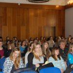 Słuchacze w trakcie wykładu