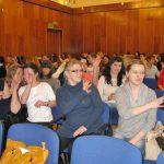 Słuchacze podczas wystąpienia przedstawicieli Klanzy