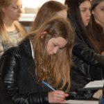 Uczniowie podczas warsztatów