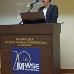 Wystąpienie dr Barbary Klasińskiej