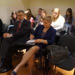 Uczestnicy konferencji, w pierwszym rzędzie dr Bogusław Wójcik