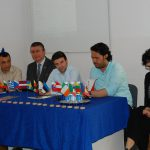Prelegenci podczas V International Erasmus Day