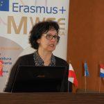 Professor Marija Miscancuk podczas swojej prezentacji