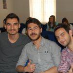 Trzech studentów z Turcji