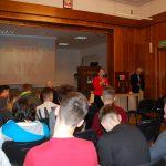 Uczestnicy wykładu - ujęcie z tyłu sali