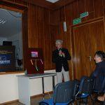 Prof. W. Błasiak podczas wykładu