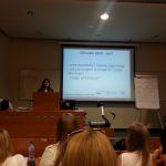 Wykład na konferencji coachingowej