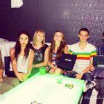Grupa studentów MWSE przy stole