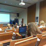 Sala wykładowa podczas konferencji coachingowej w Krakowie