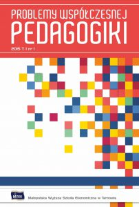 Problemy Współczesnej Pedagogiki okładka