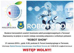 Robot show plakat