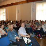 Uczestnicy wykładu w sali