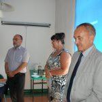 Członkowie komisji egzaminacyjnej: od lewej dr Stanisław Mysior, dr Sabina Kurzawa i dr Michał Korbelak