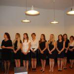 Studenci podczas ogłoszenia wyników egzaminów dyplomowych
