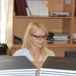 Pracownik dziekanatu mgr Małgorzata Michoń