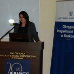 dr inż. Anna Wojtowicz (MWSE) w trakcie wystąpienia