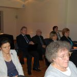 Uczestnicy seminarium, w pierwszym rzędzie dr Maria Dąbrowa (MWSE)