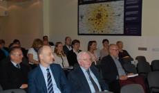 Goście z Poznania, od prawej prof. dr hab. Jerzy Olszewski (UE P), dr inż. Krzysztof Hankiewicz (PP)