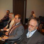 Od prawej dr inż. Ryszard Mysior (MWSE), Adam Potempa (Dyrektor CEiPM w Tarnowie), Barbara Borowicz (PUP w Tarnowie)