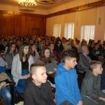 Uczniowie w trakcie wykładu