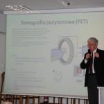 Prof. W. Błasiak w trakcie wykładu