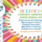 Tarnowski Junior Biznesu 2017 – konkurs dla studentów!