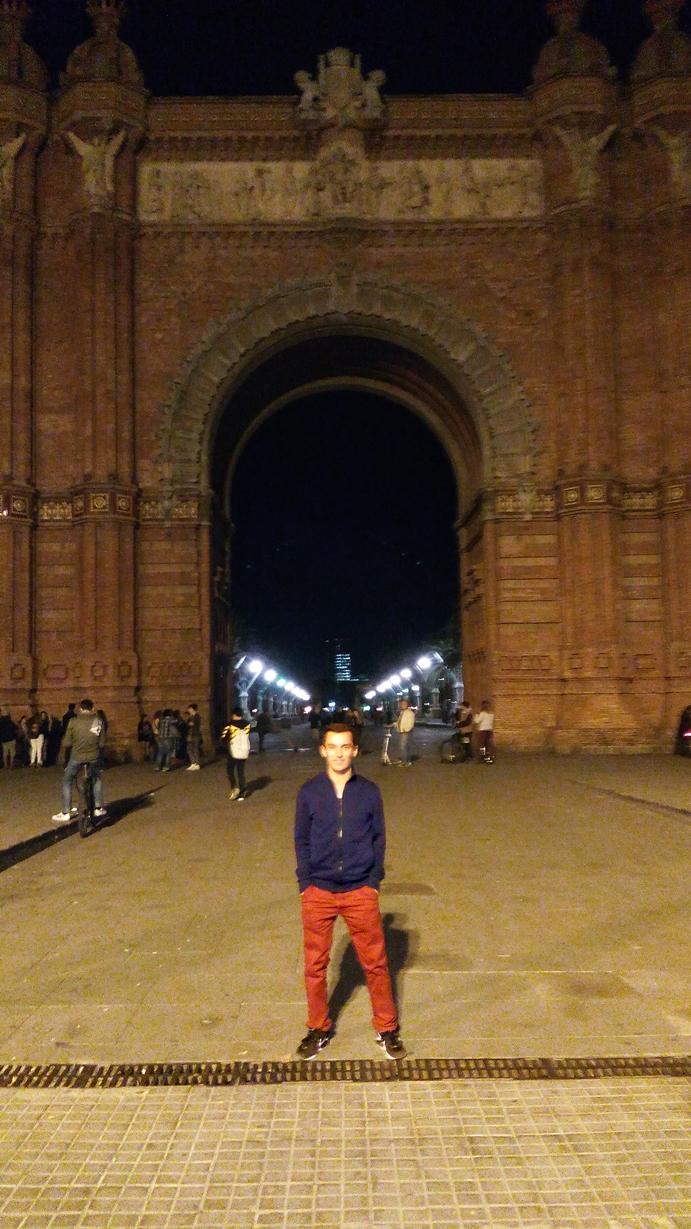 Barcelona - zdjęcie z praktyk