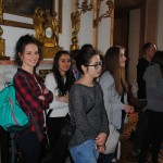 Grupa podczas zwiedzania Zamku