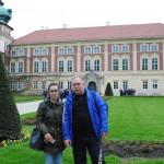 Przewodnicząca Gabriela Januś i zzastępca Wiesław Boduszek organizatorzy wycieczki