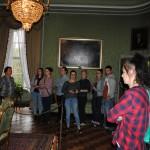 Zwiedzanie ekspozycjo I piętra Zamku