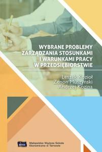 Wybrane problemy zarządzania - okładka książki