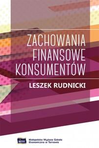 Zachowania finansowe konsumentów - okładka książki
