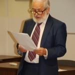 Prof. MWSE dr hab. Jan Rajmund Paśko podczas wystąpienia