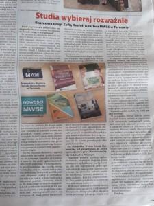 Artykuł o MWSE w Temi