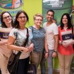 Pracownicy dziekanatu i biblioteki z przedstawicielem firmy organizującej praktyki studenckie