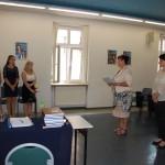 Dr Sabina Kurzawa ogłasza wyniki egzaminów