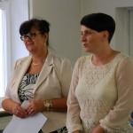 Dr Sabina Kurzawa i dr hab. Anna Wawrzonkiewicz-Słomska
