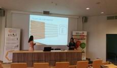 Monika Wajda i Anna Brudzisz podczas prezentacji