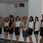 Studentki RiZF z tyt. lic. i mgr - promotor dr M. Dąbrowa